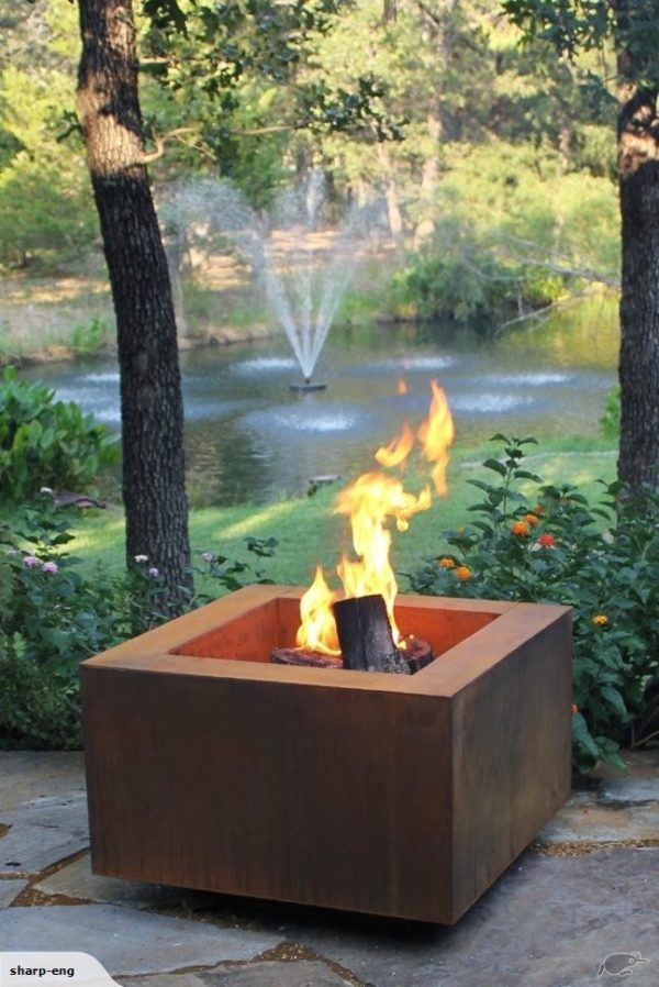 750 Tuscan Square Fire Pit - Sharp Engineering