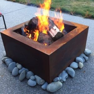 Tuscan Square Fire Pit
