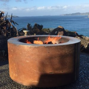 Tuscan Round Fire Pit Table Top Lid