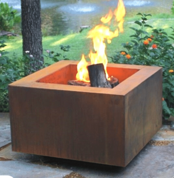 Sharp Engineering Tuscan Square Fire Pit